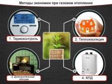 4 метода экономии при автономном газовом отоплении