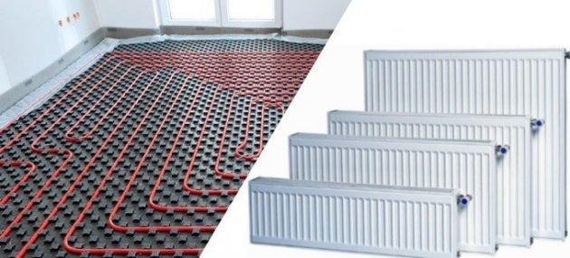 Теплый пол или радиаторы отопления?