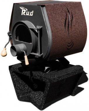 Булерьян Rud Кантри с варочной плитой тип 00 со стеклом + декоративная накладка