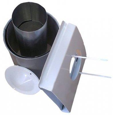 Комплект дымохода для парапетного котла Атон