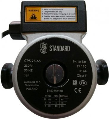 Циркуляционный насос Standard CPS 25/6S-180