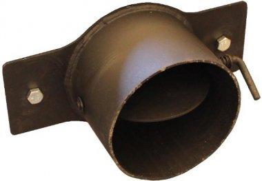 Выход дымохода круглый 170 для котлов Буржуй КП 12 и КП 18 — твердотопливный котел