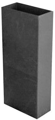 Удлиннитель прямоугольного дымохода 100х200 — твердотопливный котел