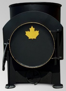 Буржуйка Canada с зольником