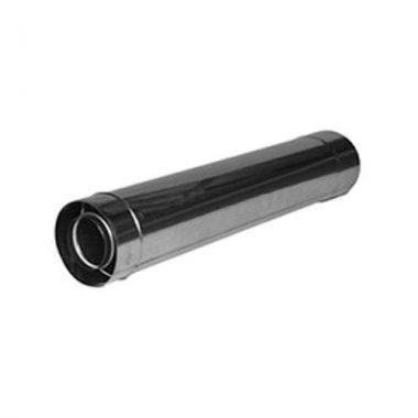 Удлинитель дымохода турбированной газовой колонки 0,5 м (60/100)
