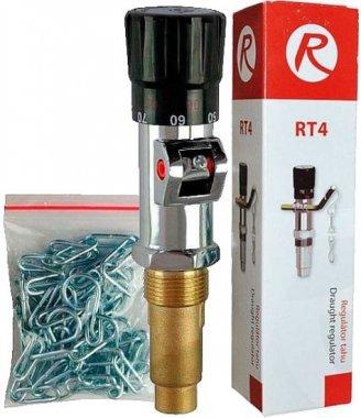 Регулятор тяги для твердотопливного котла REGULUS RT4 с цепочкой