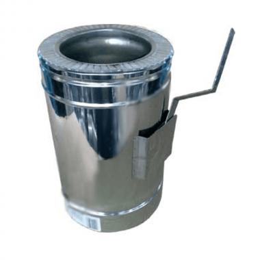 Регулятор тяги для утепленной трубы н/оц 1 мм