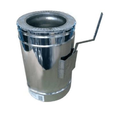 Регулятор тяги для утепленной трубы н/оц 0,8 мм