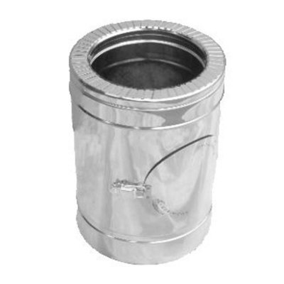 Ревизия для утепленной трубы н/оц 0,5 мм