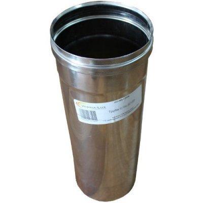 Труба из нержавеющей стали 1 м одност 0,8 мм