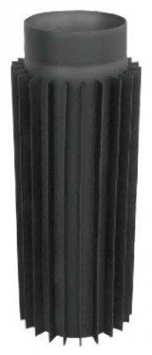 Труба-радиатор из черного металла 1 м