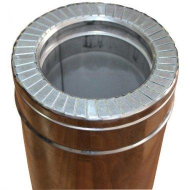 Труба из нержавеющей стали 1 м н/н 0,8 мм