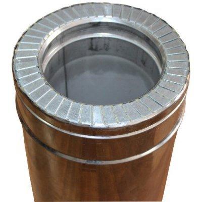 Труба из нержавеющей стали 0,5 м н/н 0,8 мм