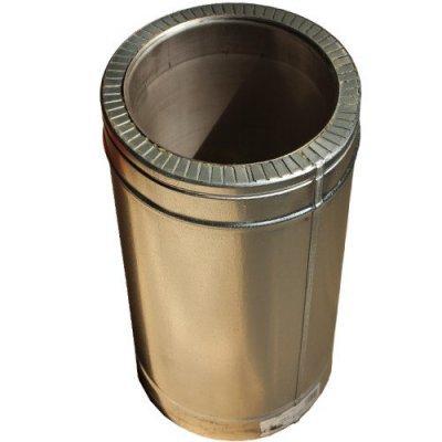 Труба из нержавеющей стали 1 м н/оц 0,8 мм