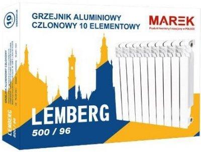 Радиатор алюминиевый Marek LEMBERG 500/96