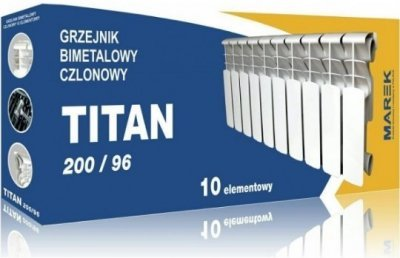 Радиатор биметаллический Marek TITAN 200/96